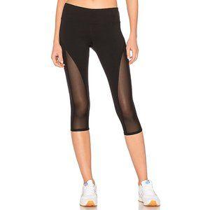 ALO Yoga Equalize Capri Leggings with Mesh Panels